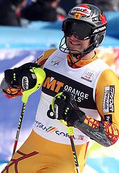 Michael Janyk at 9th men's slalom race of Audi FIS Ski World Cup, Pokal Vitranc,  in Podkoren, Kranjska Gora, Slovenia, on March 1, 2009. (Photo by Vid Ponikvar / Sportida)