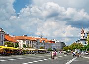 Litwa, Wilno, 08.07.2014. Wilno - stolica Litwy.