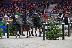 Voutaz Jerome, SUI, Belle du Peupe CH, Flash des Moulins, Flore CH, Folie des Moulins CH, Leon<br /> CHI Genève 2019<br /> © Hippo Foto - Stefan Lafrentz<br />  14/12/2019
