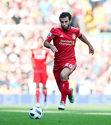 15.08.2010, Anfield, Liverpool, ENG, PL, FC Liverpool vs FC Arsenal, im Bild Liverpool's Javier Mascherano in action against Arsenal during the Premiership match at Anfield. l. EXPA Pictures © 2010, PhotoCredit: EXPA/ Propaganda/ David Rawcliffe / SPORTIDA PHOTO AGENCY