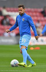 Coventry City's Tony Andreu warms up prior to the match