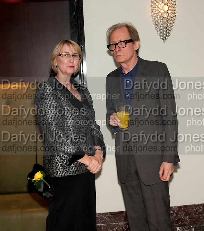 KATIE BENSON; LANGHAM VICE PRESIDENT EUROPE AND N. AMERICA. BILL NIGHY, Langham Hotel party after a major renovation. Portland Place, London. 10 June 2009