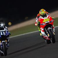 2011 MotoGP World Championship, Round 1, Losail, Qatar, 20 March 2011, Valentino Rossi