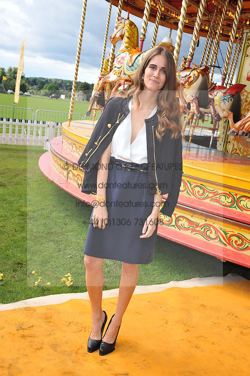 JADE WILLIAMS at the 2012 Veuve Clicquot Gold Cup Final at Cowdray Park, Midhurst, West Sussex on 15th July 2012.