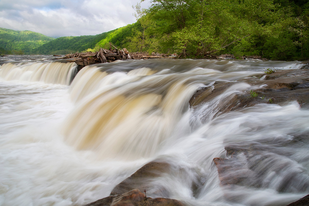 """Sandstone Falls after the Rain<br /> <br /> Available sizes:<br /> 11"""" x 14"""" print <br /> <br /> See Pricing page for more information. Please contact me for custom sizes and print options including canvas wraps, metal prints, assorted paper options, etc. <br /> <br /> I enjoy working with buyers to help them with all their home and commercial wall art needs."""