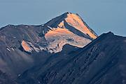 Glaciers. Kluane Ranges, the easternmost of the St Elias Mountains. <br /> Kluane National Park<br />Yukon<br />Canada