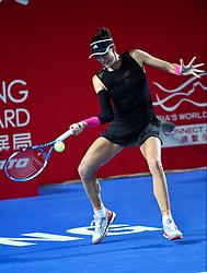 October 12, 2018 - Hong Kong, Hong Kong SAR, China - Garbiñe Muguruza wins her quarter final to move through to the semi-final in the Prudential Hong Kong Tennis Open (Credit Image: © Jayne Russell/ZUMA Wire)