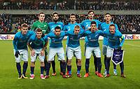 TRONDHEIM, NORWAY - NOVEMBER 02, 2017. UEFA Europa League, round 4: Rosenborg BK (Norway) 1-1 Zenit St Petersburg (Russia).