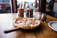Brown Dog Pizza. Telluride, Colorado.