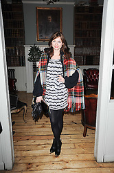 SOPHIE ELLIS-BEXTOR at a party to celebrate the 1st anniversary of Alice Temperley's label held at Paradise, Kensal Green, London W10 on 25th November 2010.