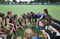 BREDA (Neth.)  Team New Zealnad during the match  New Zealand vs England U21 women . Volvo Invitational Tournament U21. COPYRIGHT KOEN SUYK