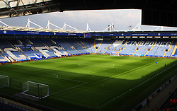 General view of the King Power Stadium before the match - Mandatory byline: Jack Phillips/JMP - 27/02/2016 - FOOTBALL - King Power Stadium - Leicester, England - Leicester City v Norwich - Barclays Premier League