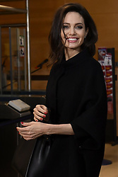 January 31, 2018 - Brussels, Belgium - UNHCR Special Envoy Angelina Jolie pictured during a meeting between representatives of the NATO and the the UN Refugee Agency UNHCR. (Credit Image: © Dirk Waem/Belga via ZUMA Press)