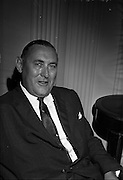 03/07/1963<br /> 07/03/1963<br /> 03 July 1963<br /> American executives of N.C.R. visit Dublin. Two top executives of the Dayton, Ohio, headquarters of the National Cash Register Company, one of the world's foremost manufacturers of cash registers, accounting machines and electronic computers, visiting Dublin. Picture shows at the Gresham Hotel, Dublin, Mr George Haynes, Vice President International Operations N.C.R., Dayton Ohio.