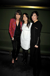 Left to right, CHRISSIE HYNDE, KT TUNSTALL and SHARLEEN SPITERI at 'Not Another Burns Night' in association with CLIC Sargebt and Children's Hospice Association Scotland held at ST.Martins Lane Hotel, London on 3rd March 2008.<br />
