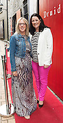 """Orla Higgins and Michelle Ni Chroinin at the World Premiere of the """"Luck Just Kissed you Hello""""by Amy Conroy in the Mick Lally theatre (Druid) on the opening night of Galway international Arts Festival. Photo:andrew Downes xposure"""