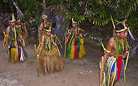 The island of Yap with manta rays, beautiful reefs and reef sharks. Very natural with traditional dancing and customs.