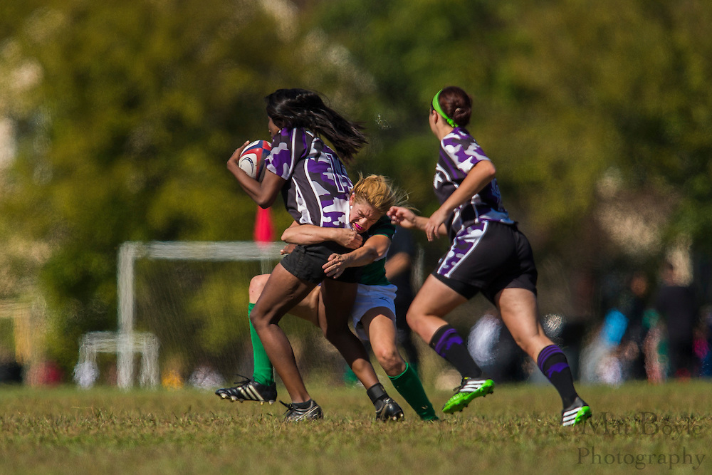 South Jersey Devils Rugby Football Club Women hosts Phoenixville White Horse Women's Rugby at Garden State Rotary Complex in Cherry Hill, NJ on Saturday October 10, 2015. (photo / Mat Boyle)