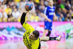 Blaz Klec of RK Gorenje during handball match between RK Gorenje and RK Celje Pivovarna Lasko in 5th Round of 1st NLB Leasing Slovenian Champions League 2015/16, on May 11, 2016, in Red arena, Velenje, Slovenia. Photo by Vid Ponikvar / Sportida