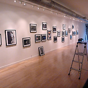 Installing of Kandahar The Fighting Season work at the Honfleur Gallery in Washington DC. Curated by Beth Ferraro.<br /> (Credit Image: © Louie Palu/ZUMA Press)