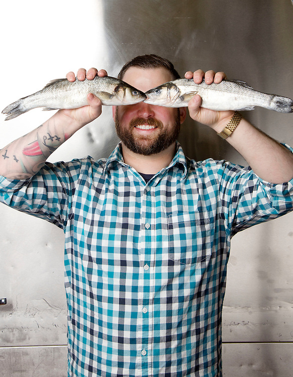 Ian Holmes of Global Local Seafood for Crave. (Will Shilling/Crave)