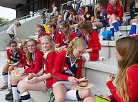 ZWOLLE - HC ZWOLLE - team van EHV (Enschede) FOTO KOEN SUYK