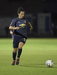 February 20, 2019 - Sheffield, United Kingdom - Jess Sigsworth (Manchester United) in action during the  FA Women's Championship football match between Sheffield United Women and Manchester United Women at the Olympic Legacy Stadium, on February 20th Sheffield, England. (Credit Image: © Action Foto Sport/NurPhoto via ZUMA Press)