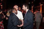 ISAAC JULIEN; IDRIS KHAN, Victoria Miro hosts Supper to celebrate Frieze and Frieze Masters . One Mayfair, London. 17 October 2013