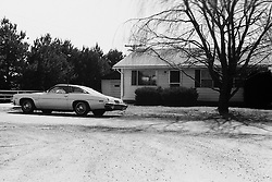 1975-1977 Heyworth Il & Vicinity<br /> 1974 Pontiac Lemans at 316 Poplar St.<br /> <br /> Archive slide, negative and print scans.