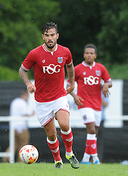 Marlon Pack of Bristol City - Photo mandatory by-line: Dougie Allward/JMP - Mobile: 07966 386802 - 05/07/2015 - SPORT - Football - Bristol - Brislington Stadium - Pre-Season Friendly