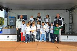 , BMW Sailing Cup Berlin Wannsee 20. - 22.09.2012, OPTI Siegerehrung C