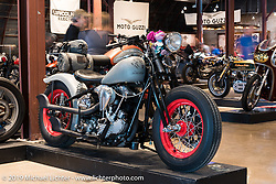 Sunday at the Handbuilt Motorcycle Show. Austin, TX. April 12, 2015.  Photography ©2015 Michael Lichter.