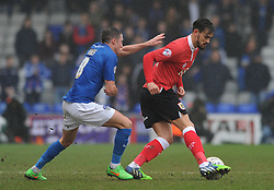 Bristol City's Marlon Pack turns away from Oldham Athletic's Mike Jones - Photo mandatory by-line: Dougie Allward/JMP - Mobile: 07966 386802 - 03/04/2015 - SPORT - Football - Oldham - Boundary Park - Bristol City v Oldham Athletic - Sky Bet League One