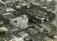 1920 Aerial of Hollywood Blvd. & Cahuenga Ave.
