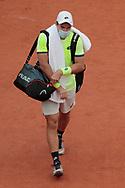 Dominik Koepfer (ALL) during the Roland Garros 2020, Grand Slam tennis tournament, on September 30, 2020 at Roland Garros stadium in Paris, France - Photo Stephane Allaman / ProSportsImages / DPPI