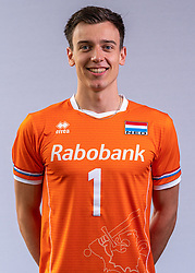 Markus Held of Netherlands, Photoshoot selection of Orange men's volleybal team season 2021on may 11, 2021 in Arnhem, Netherlands (Photo by RHF Agency/Ronald Hoogendoorn)