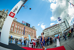 Fan zone at Ban Jelacic Square during Day Off in Group C of FIBA Europe Eurobasket 2015, on September 7, 2015, in Zagreb, Croatia. Photo by Vid Ponikvar / Sportida