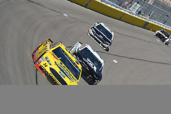 March 4, 2018 - Las Vegas, Nevada, U.S. - LAS VEGAS, NV - MARCH 04: Michael McDowell (34) Front Row Motorsports Ford Fusion during the Pennzoil 400 Monster Energy NASCAR Cup Series race on March 4, 2018, at Las Vegas Motor Speedway in Las Vegas, NV.   (Photo by Michael Allio/Icon Sportswire) (Credit Image: © Michael Allio/Icon SMI via ZUMA Press)