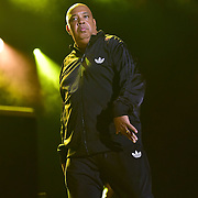 """BETHLEHEM, PA - AUGUST 06:  Joseph """"Rev Run"""" Simmons of RUN-DMC performs at Sands Steel Stage at PNC Plaza on August 5, 2016 in Bethlehem, Pennsylvania.  (Photo by Lisa Lake/Getty Images)"""