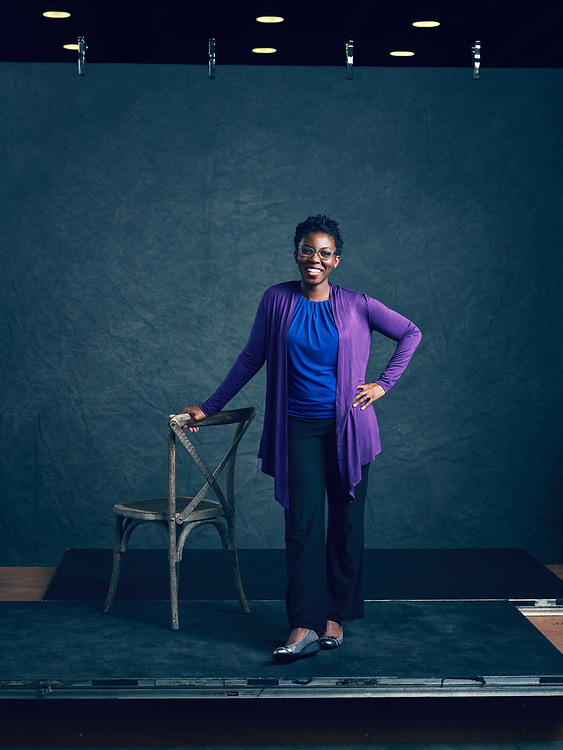 Amma Ghartey-Tagoe Kootin, TED Fellow. TED2019: Bigger Than Us. April 15 - 19, 2019, Vancouver, BC, Canada. Photo: Bret Hartman / TED