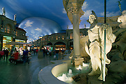 The Forum Shops at Ceasars Palace, Las Vegas, Nevada, USA<br />