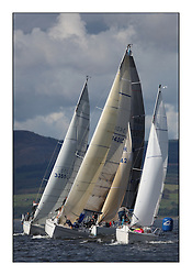 Largs Regatta Week 2011..1921C, Distraction, Sunway 21, Callum Douglas/Craig Miller, 3401C, Rogue Trader, Elan 340, Jamie Cumming