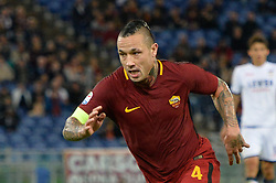 October 25, 2017 - Italy - Radja Nainggolan,  during the Italian Serie A football match between A.S. Roma and F.C. Crotone at the Olympic Stadium in Rome, on october 25, 2017. (Credit Image: © Silvia Lor/Pacific Press via ZUMA Wire)
