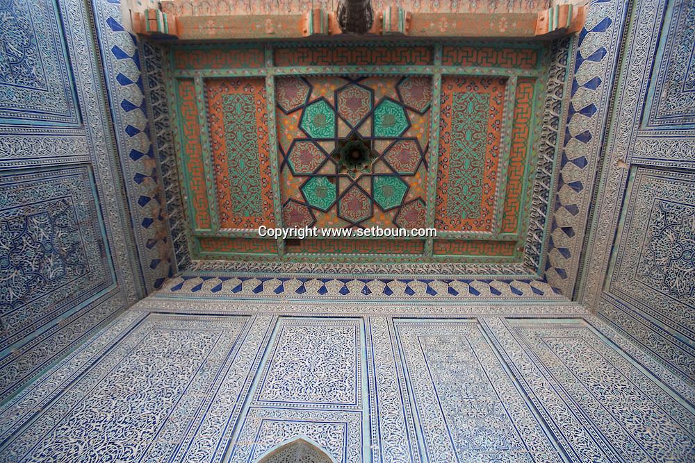 TASH KAULI PALACE   HAREM inside the old city  KHIVA  Ouzbekistan  .///.TASH KAULI PALACE   HAREM.dans la vielle ville  KHIVA  Ouzbekistan .///.OUZB56306