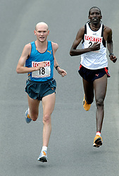09-04-2006 ATLETIEK: FORTIS MARATHON: ROTTERDAM<br /> De 26e editie van de marathon van Rotterdam - Francis Kirwa (FIN) no. 24<br /> ©2006-WWW.FOTOHOOGENDOORN.NL