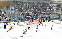 Joie groupe Rouen / Vue generale - 25.01.2015 - Rouen / Amiens - Finale Coupe de France 2015 de Hockey sur glace<br /> Photo : Xavier Laine / Icon Sport