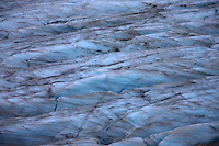 Summer glacier surface cover with dust., Hohe Tauern National Park, Carinthia, Austria