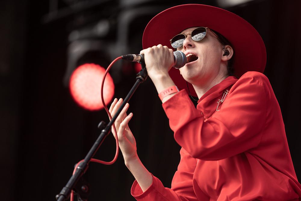 Berlin-based Australian singer-songwriter Kat Frankie at Haldern Pop Festival