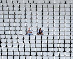 Fans look in an empty Ageas Bowl.  - Mandatory by-line: Alex Davidson/JMP - 02/08/2016 - CRICKET - The Ageas Bowl - Southampton, United Kingdom - Hampshire v Somerset - Royal London One Day