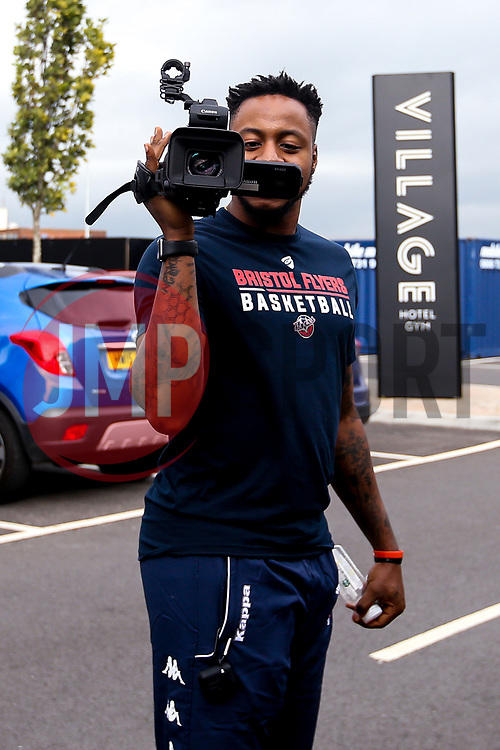Panos Mayindombe of Bristol Flyers - Mandatory by-line: Robbie Stephenson/JMP - 16/09/2019 - BASKETBALL - University of Worcester Arena - Worcester, England - Worcester Wolves v Bristol Flyers - Preseason Friendly